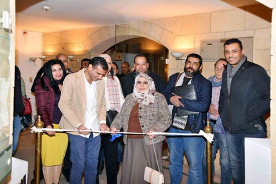 3b1ac86e7 صور افتتاح معرض الفنان/ محمود رشدي (طرح الأرض) الذي تم افتتاحه يوم الاحد  الموافق 20/1/2019 بقاعة اتجاه بقصر الفنون