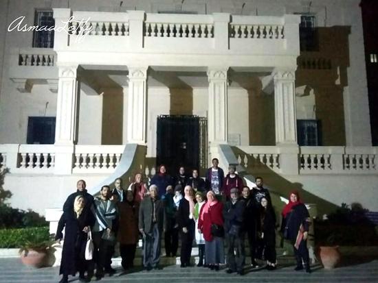 81fb935b2 افتتاح المعرض الجماعي/ ميلاد جديد الذي تم افتتاحه يوم السبت الموافق  23/3/2019 بمركز محمود سعيد للمتاحف بالإسكندرية.